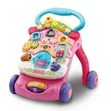 VTech First Steps Baby Walker Pink - Warehouse Clearance