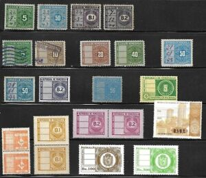 Venezuela: Small lot of different Tax stamps singles and pairs, Mint NH. EBV231