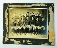 1913 Phillips Exeter Academy Football Lineup Team Photograph Phillips vs Andover