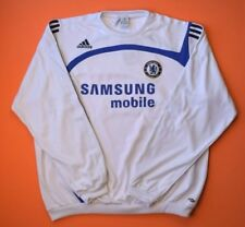 5/5 CHELSEA FOOTBALL SOCCER TRAINING JACKET LONG SLEVEE CLIMAWARM ADIDAS