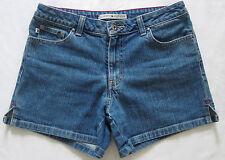 "TOMMY HILFIGER Denim Jean Shorts Stretch 4"" Inseam Sz 2"
