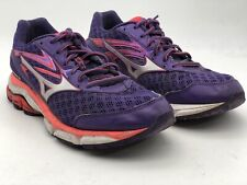 Women's Mizuno Wave Inspire 12 Running Shoes Sneakers Size 8.5 Purple Pink