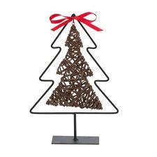 Willow Tree su Stand ~ Rosso con Fiocco Decorativo Casa Natale Ornamento 81-1555