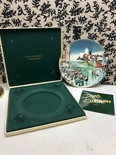 "Royal Doulton Dong Kingman 1977 Plate Venice # 2564 Of 15,000 10"" with Card"