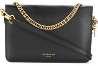 GIVENCHY Cross3 Leather & Suede Shoulder Cross-Body Bag