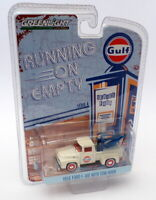 Greenlight Empty 1/64 Scale 41040-C - 1956 Ford F-100 With Tow Hook - Gulf
