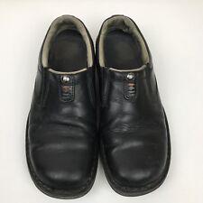 Merrell World Legend J45053 Men Black Leather Loafers Casual Slip On Shoes Sz 8