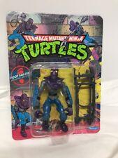 Vintage Playmates TMNT Ninja Turtles 1990 Foot Soldier Action Figure -UNPUNCHED-