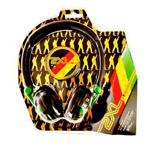 Skullcandy Wired Head Phones Old School Rastafarian Look