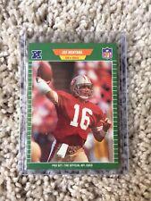 1989 NFL ProSet | Joe Montana Card | #381 | San Francisco 49ers