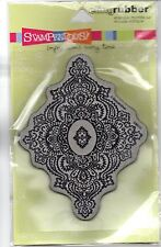 Stampendous! Cling Imperial Jewel Rubber Stamp CRR110 Scrapbooking Crafts New
