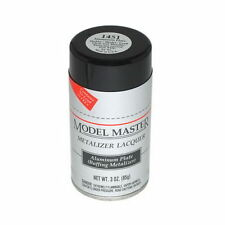 Testors Model Master Aluminum Plate Buffing Metalizer Spray Paint Can  3 oz 1451