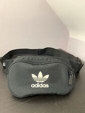 Adidas Essential Crossbody Trefoil Bum Bag (Black)