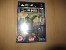 THE INCREDIBILE HULK NUOVO SIGILLATO PS2 PAL