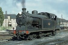 N7 Class 0-6-2T 69671 at Enfield shed c1959 6x4 Quality British Rail Photo