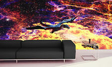 Photo Wallpaper Planet of the Dragon GIANT WALL DECOR PAPER POSTER FOR BEDROOM