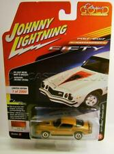 1977 '77 CHEVY CAMARO Z28 ORANGE CLASSIC GOLD JOHNNY LIGHTNING DIECAST 2017