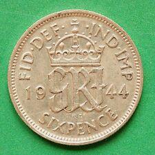 1944 George VI Silver Sixpence SNo44462