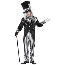 Mens Totally Mad Hatter Costume Standard Alice in Wonderland Halloween Outfit