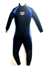Aqua Lung Aquaflex Wetsuit 7mm Men's Size M Scuba Snorkel Freedive Surf Swim