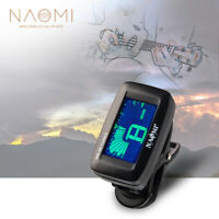 NAOMI Guitar Tuner NM-86 Clip-on Electric Guitar Tuner Bass Violin Ukulele