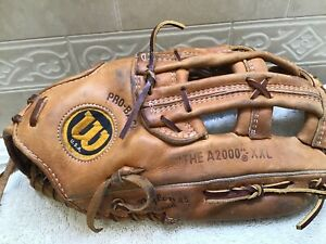 "Wilson USA A2000 XXL 13.25"" Baseball Softball Glove Right Handed Thrower"