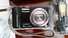 Panasonic LUMIX DMC-ZS10 (TZ20) 16MP Digital Camera (with 3 batteries - 1 new)