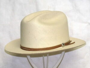 STETSON 30X OPEN ROAD STRAW WESTERN HAT