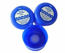 Premium Quality BPA Free Non Spill Water Cooler Bottle Caps 3 or 5 Gallon (3pk)