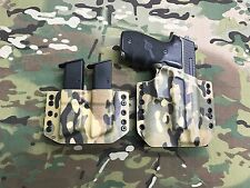Multicam Kydex SIG P226R MK25 Holster w/Matching Mag Carrier