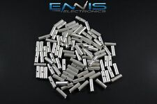 10-12 Gauge 25 Pk Uninsulated Non Insulated Butt Connector Crimp Terminal Wire