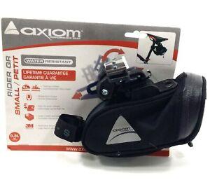 AXIOM RIDER QR 21ci BICYCLE SEAT BAG, GRAY, SMALL