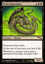 MTG 1x DROSS HARVESTER - Mirrodin *Rare Horror 4/4 FOIL NM*
