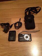 Panasonic LUMIX DMC-FS12 12.1 MP Digital Camera - Black Free P&P