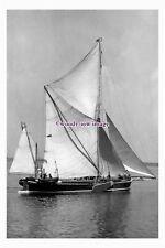 "rs1003 - London Rochester Sailing Barge - Sirdar , built 1898 - photograph 6""x4"""