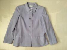 Women Purple Kasper & Company  Long Sleeve Button Down   Jacket  sz 14
