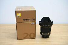 Nikkor Nikon AF-S 20mm f/1.8 G ED