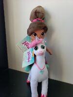 Nella & Trinket the Princess Knight - Cuddle Plush Princess Doll & Unicorn