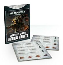 Warhammer 40,000 40K - 8E Datasheet Cards: Imperial Knights (New)