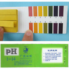 80 PH1-14 Teststreifen Streifen ph Test Strip Wassertest Indikator Papier