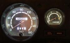 White LED Dash Cluster Light Kit For Toyota Landcruiser 1980-1990 60 Series