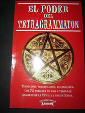 EL PODER DEL TETRAGRAMMATON libro enigmatico simbolismos,consagraciones