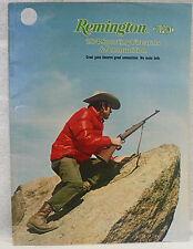 REMINGTON FIREARMS AND AMMUNITION CATALOG 1974