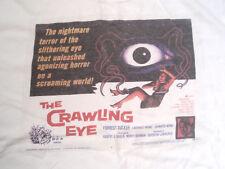 THE CRAWLING EYE LOBBY CARD T-SHIRT SIZE XL 50'S SCI-FI HORROR FORREST TUCKER