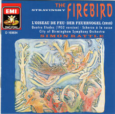 Stravinsky: The Firebird, others - Simon Rattle/Birmingham Symphony - CD