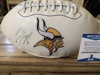 Adrian Peterson Autographed/Signed Football Minnesota Vikings Please Read