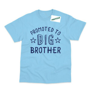 Promoted to Big Brother Kid's Printed Pregnancy Announcement T-Shirt