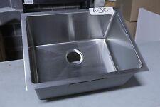 "23"" x 18"" Stainless steel, 16-gauge, small radius undermount kitchen sink # A-30"