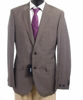 HUGO BOSS Sakko Jacket The James Gr.98 braun gestreift Einreiher 2-Knopf -S051