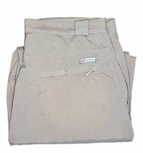 Berghaus Men's Walking Hiking Trousers / Pants Size W36 L32 Standard Beige Nylon